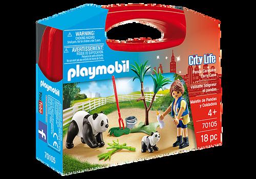 Playmobil Panda Caretaker Carry Case (70105)