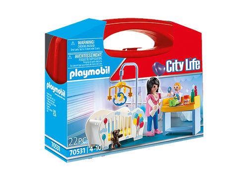 Playmobil Nursery Carry Case (70531)