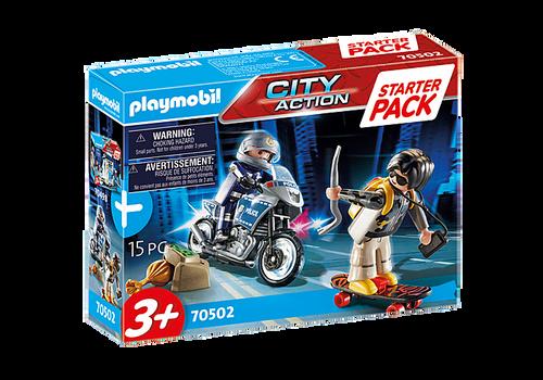 Playmobil Starter Pack Police Chase (70502)