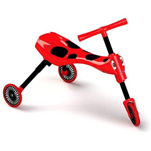 Scuttlebug Beetle Red/Black (8540)