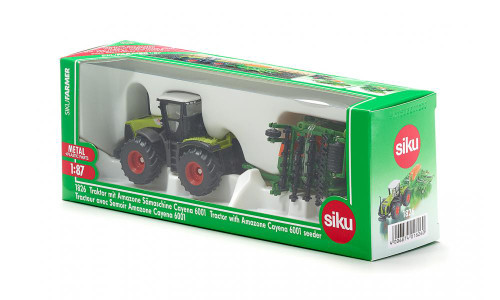 Siku 1:87 Claas Xerion with Seeder (1826)