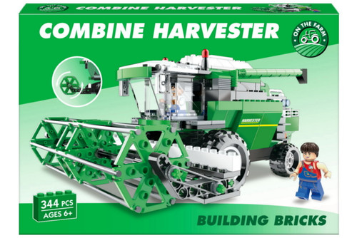 Building Bricks Combine Harvester - 362 pieces (K38/3965)