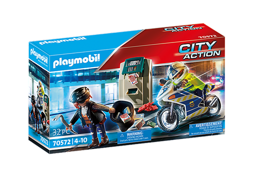 Playmobil Bank Robber Chase (70572)