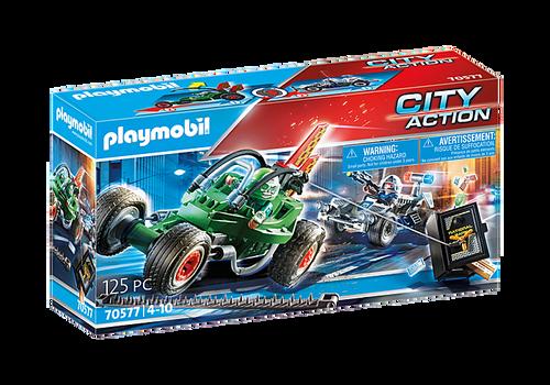 Playmobil Police Go-Kart Escape (70577)