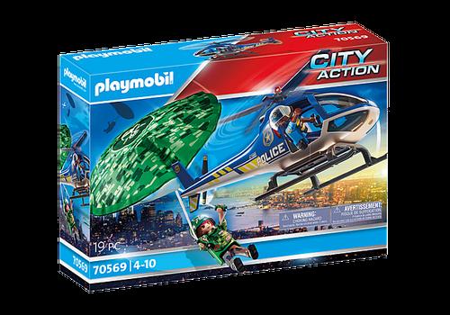 Playmobil Police Parachute Search (70569)