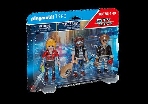 Playmobil Thief Figure Set (70670)