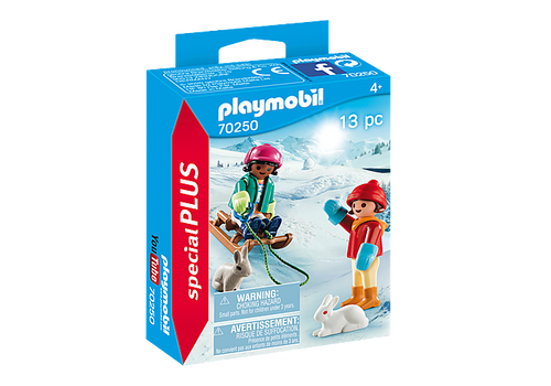 Playmobil Special Plus Children with Sleigh (70250)