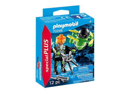 Playmobil Special Plus Agent with Drone (70248)
