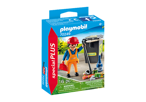 Playmobil Special Plus Street Cleaner (70249)
