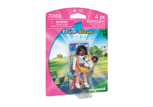 Playmobil Playmo-Friends Mother with Baby Carrier (70563)