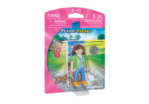 Playmobil Playmo-Friends Girl with Kittens (70562)
