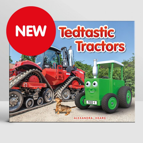 Tractor Ted Tedtastic Tractors Story Book