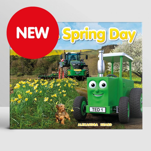 Tractor Ted 'A Spring Day' Story Book