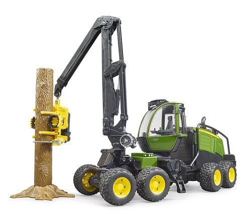 Bruder John Deere 1270G Log Harvester with Trunk (2135)