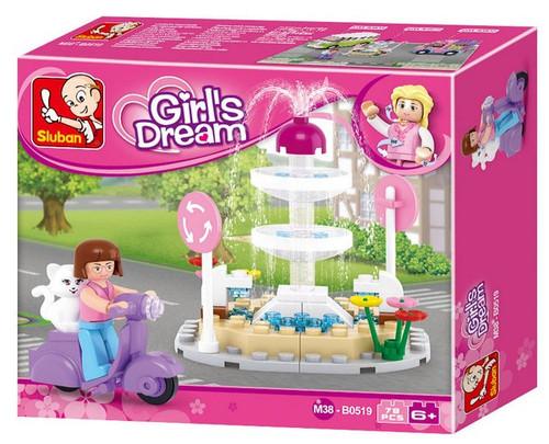 Play Bricks Girl's Dream Fountain (20519)