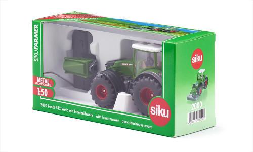 Siku 1:50 Fendt 942 Vario Tractor with Front Mower (2000)