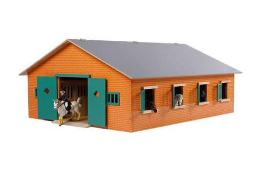 Kids Globe Large Horse Stable 1:24 Scale (0595)