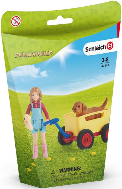 Schleich Puppy Wagon Ride (42543)