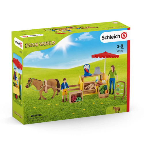 Schleich Sunny Day Mobile Farm Stand (42528)