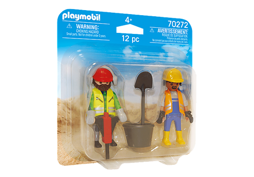 Playmobil Duo Pack Construction Workers (70272)