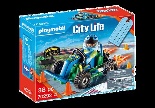 Playmobil Go-Kart Racer Gift Set (70292)