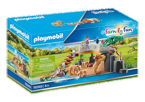 Playmobil Outdoor Lion Enclosure (70347)