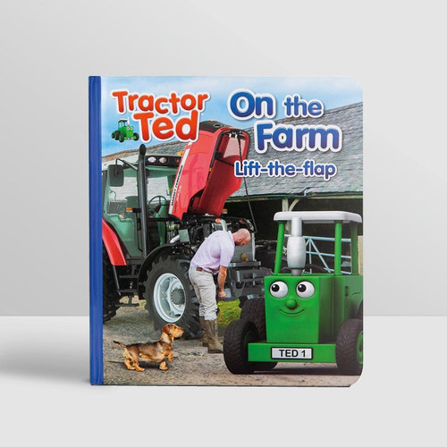 Tractor Ted Lift-the-Flap Book, On the Farm