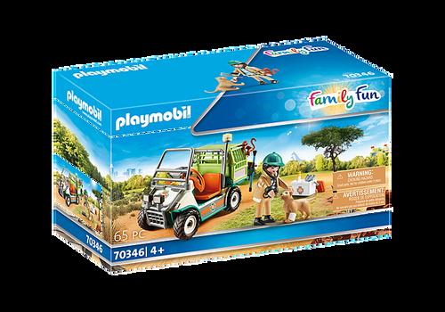 Playmobil Zoo Vet with Medical Cart (70346)