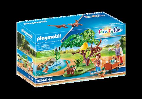 Playmobil Red Panda Habitat (70344)