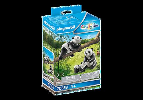 Playmobil Pandas with Cub (70353)