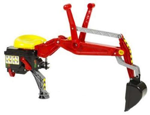 Rolly Red Backhoe Loader (40932)