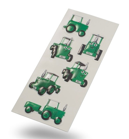 Tractor Ted 3D Stickers