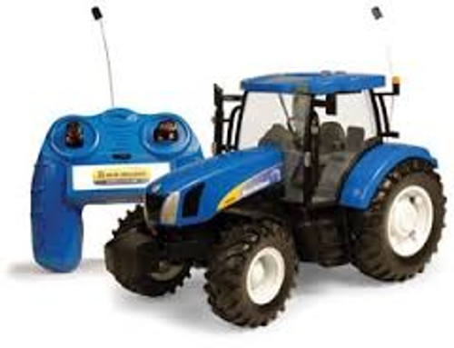 Britains Big Farm Radio Controlled New Holland T6070 Tractor (42601)