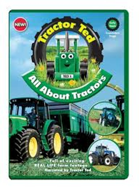 Tractor Ted All About Tractors  DVD