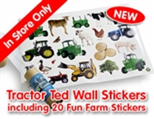 Tractor Ted 20 Wall Stickers
