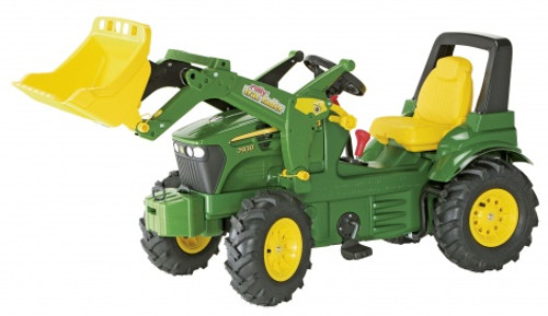Rolly John Deere 7930 Tractor with Loader, Pneumatic Tyres, Gears and Brakes (71012)
