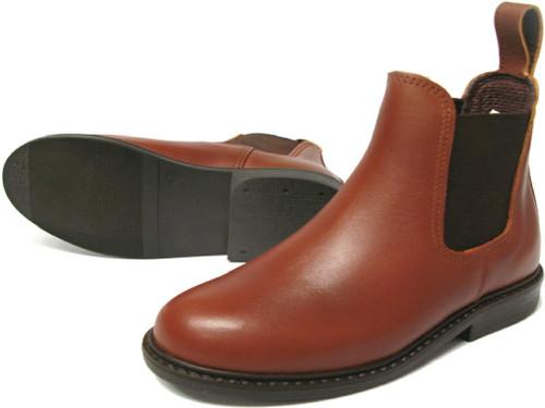 Jonny Blunt Children's Dealer Boot TAN