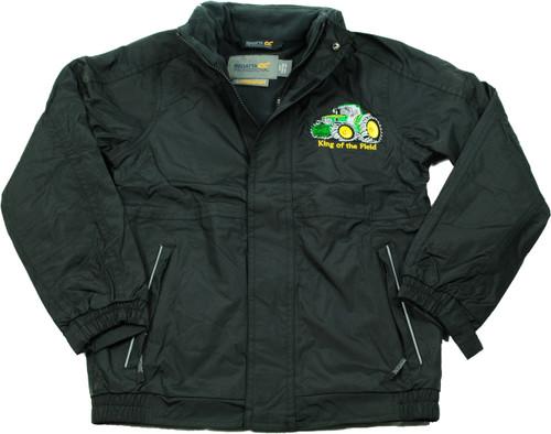 'King of the Field' Children's Jacket Green Logo