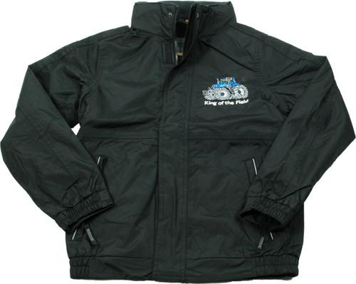 'King of the Field' Children's Jacket Blue Logo
