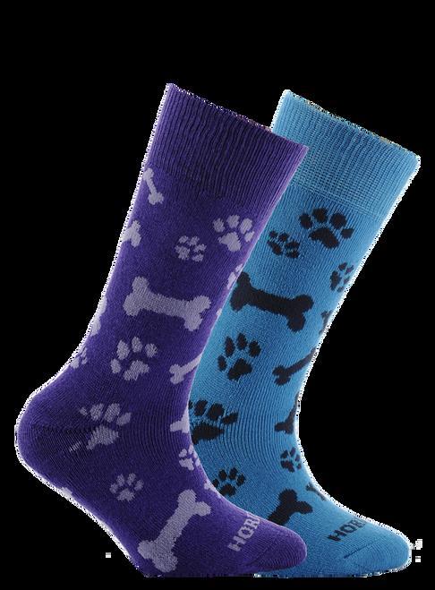 Horizon Kid's Socks Paw Print (2 Pack)