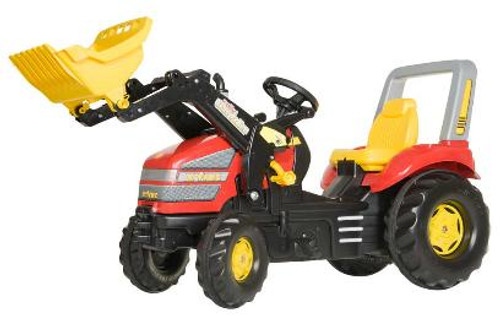 Rolly Red Xtrac with Loader (046775)