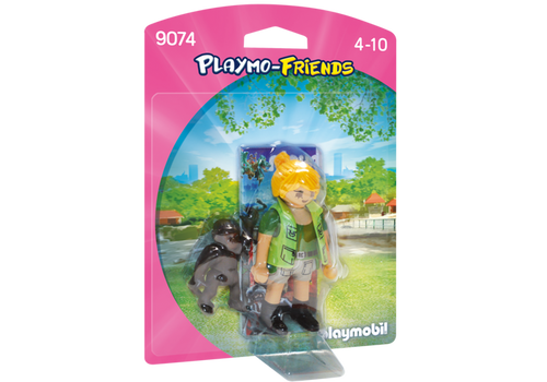 Playmobil Playmo-Friends Zookeeper with Baby Gorilla