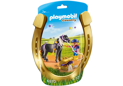 Playmobil Groomer with Star Pony (6970)