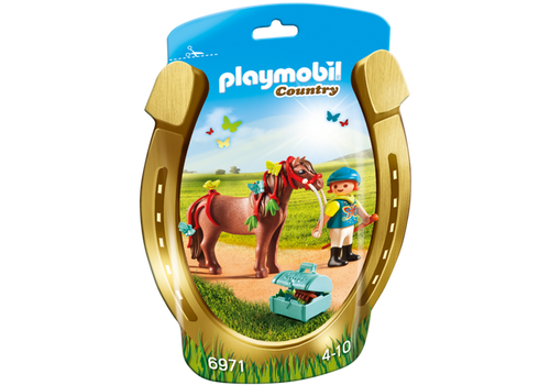 Playmobil Groomer with Butterfly Pony (6971)