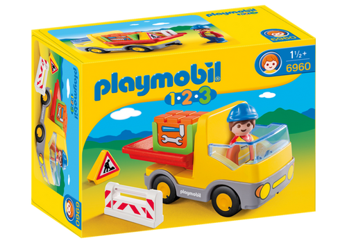 Playmobil 1-2-3 Construction Truck (6960)