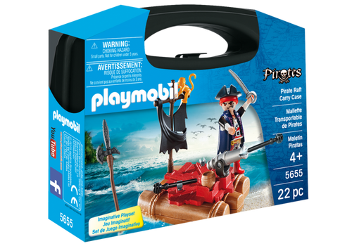 Playmobil Pirate Raft Carry Case (5655)