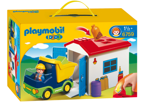 Playmobil 1-2-3 Truck with Garage (6759)