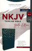 NKJV Thinline Bible Youth Edition(Comfort Print), TEAL Leathersoft