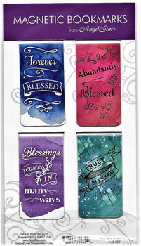 Magnetic PageMarkers:  Blessings Quotes - 3 sets for $20