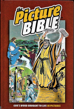 The Picture Bible(Hardcover) - God's Word brought to life in Pictures (Old and New Testament)